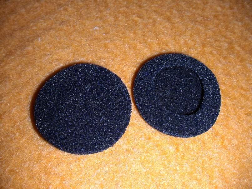 Подушечки для наушников своими руками