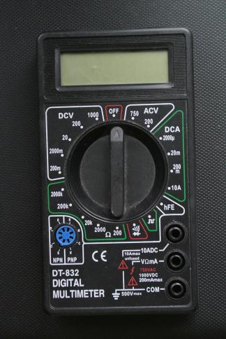 Ремонт мультиметра dt 832 своими руками