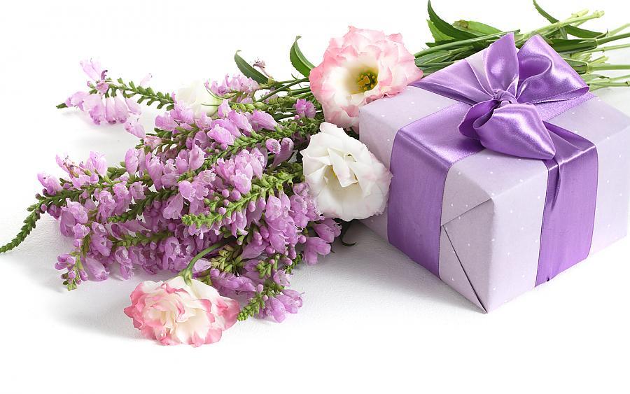 Картинка мне подарили цветы 6