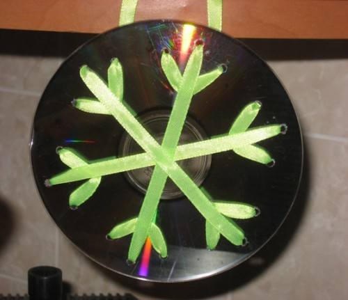 Веранды и Панель дНовогодние поделки из сд дисков своими руками