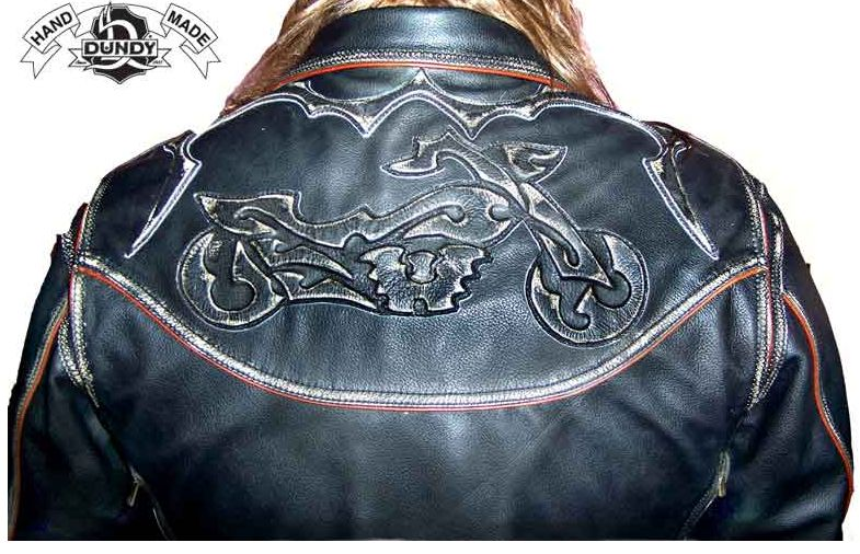 Нашивка на кожаную куртку своими руками 5