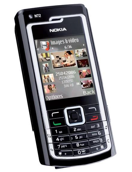 Скачать игру Прошивка для Nokia N72 на телефон бесплатно.