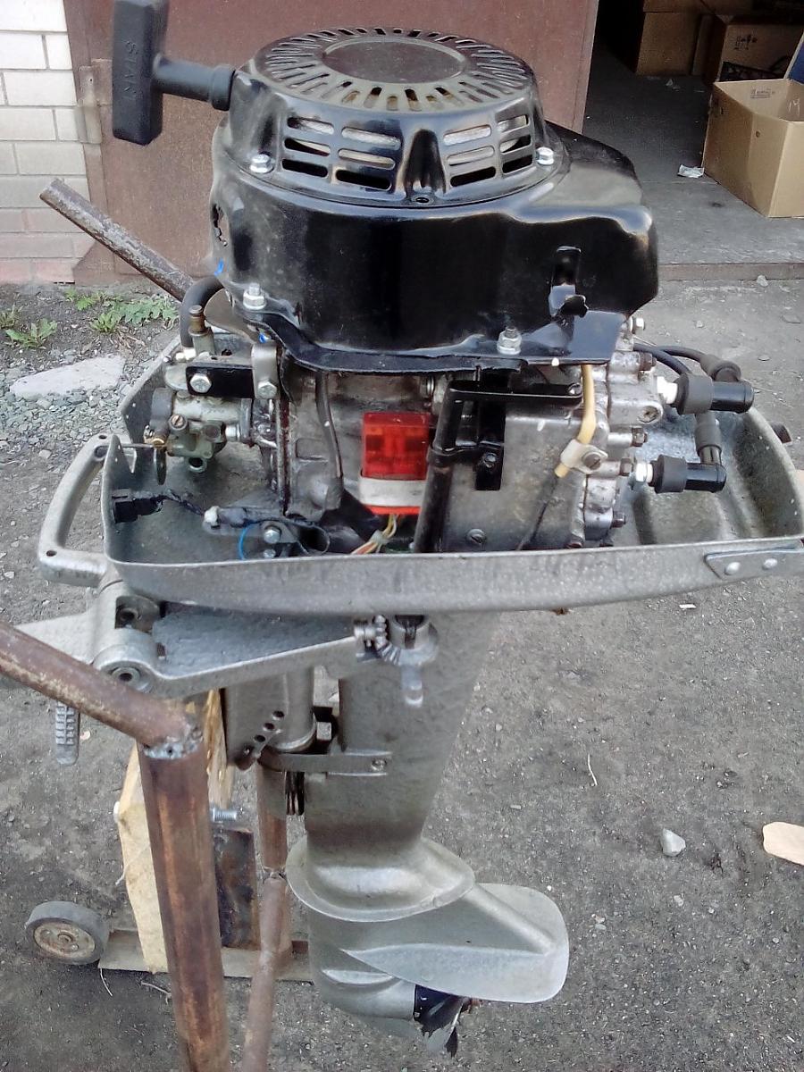 Лодочный мотор ремонт своими руками