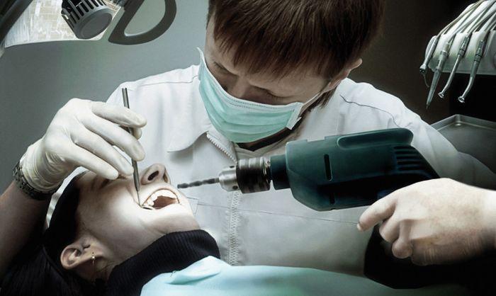 Зубной врач секс