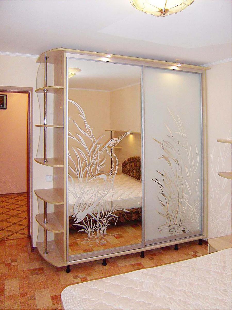 Как сделать шкафы-купе в спальню